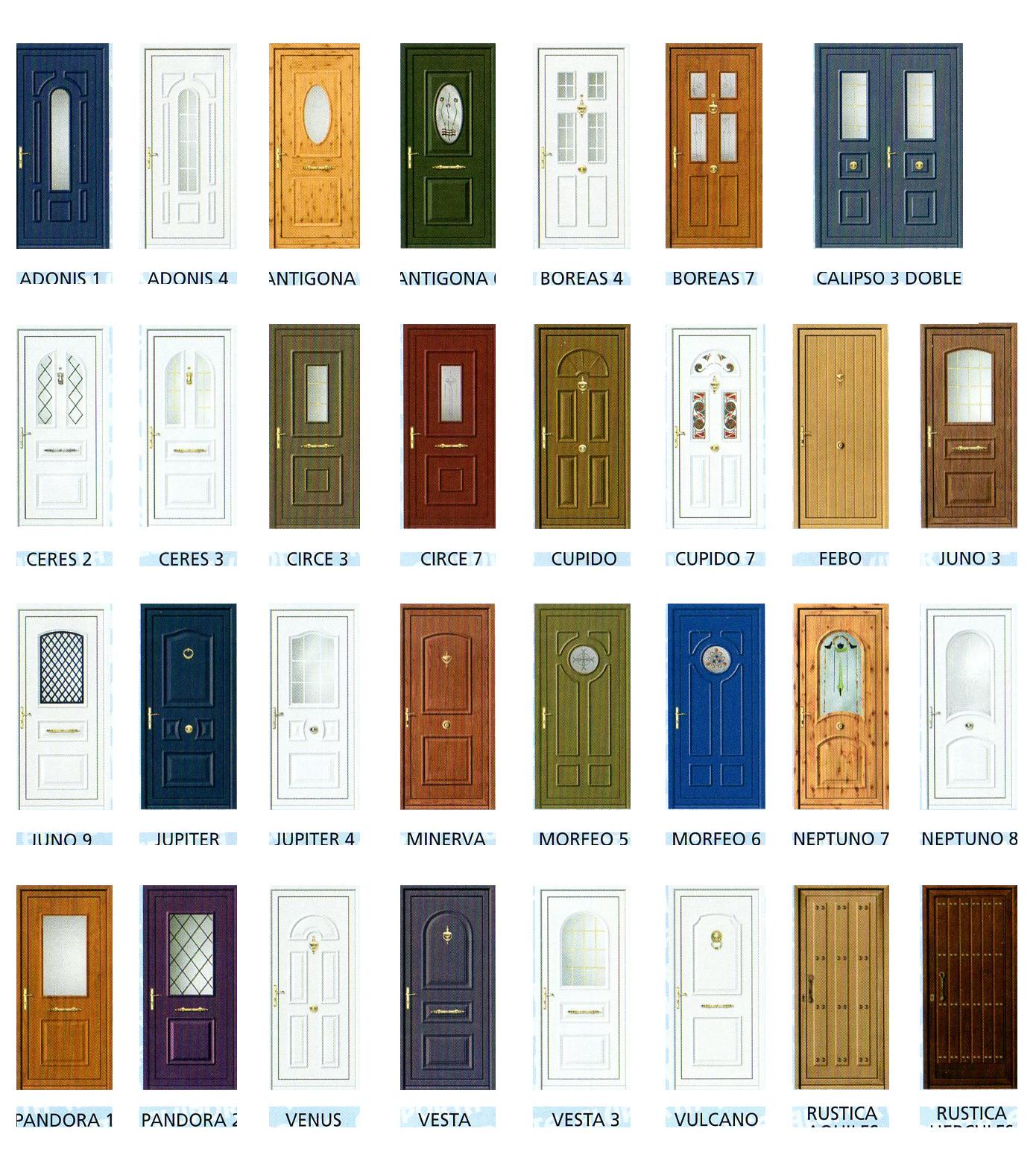 Puertas de aluminio y cerramientos catalogo puertas de - Modelos de puertas de aluminio para exterior ...
