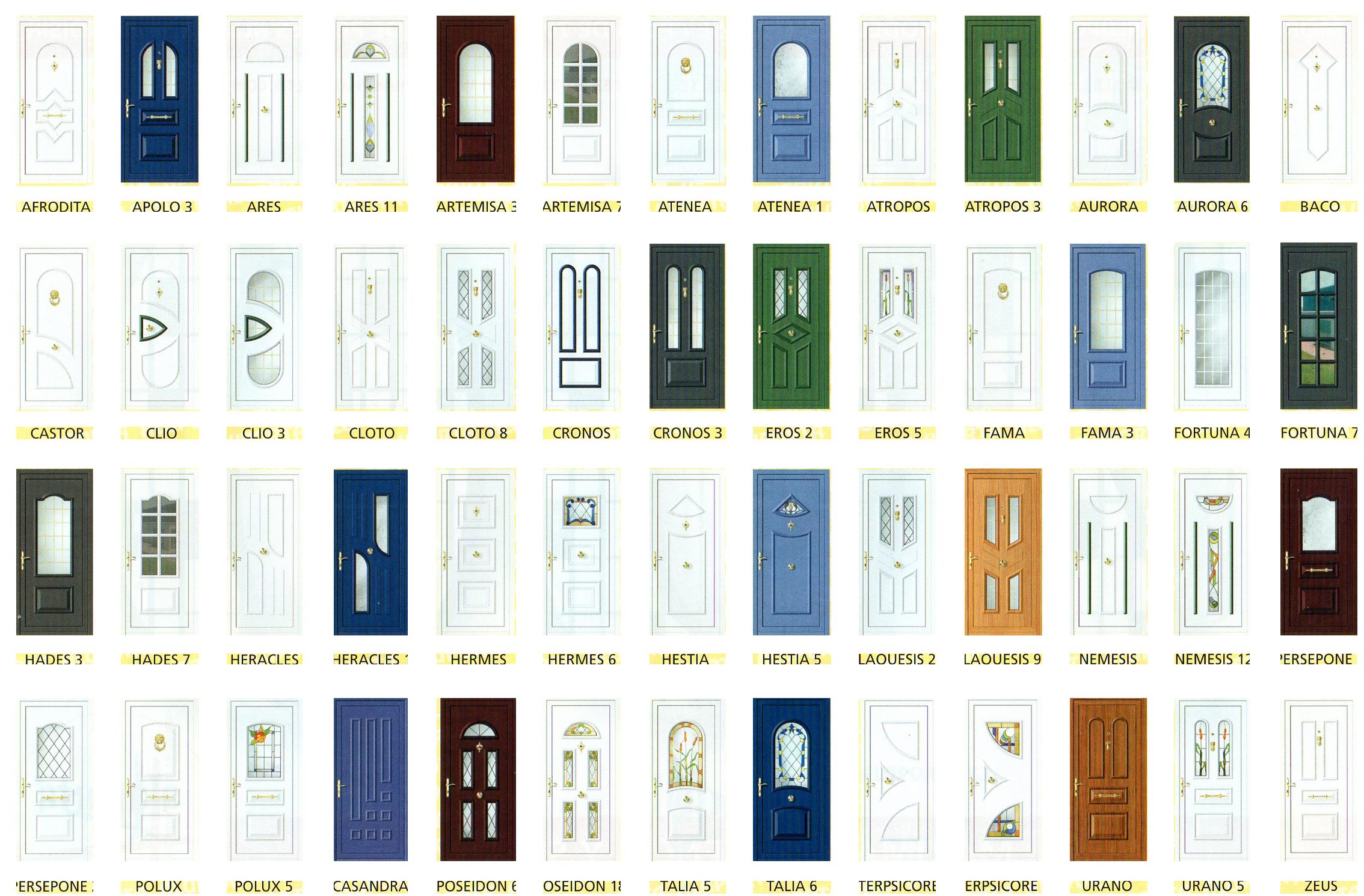 Puertas de aluminio y cerramientos Catalogo puertas de aluminio