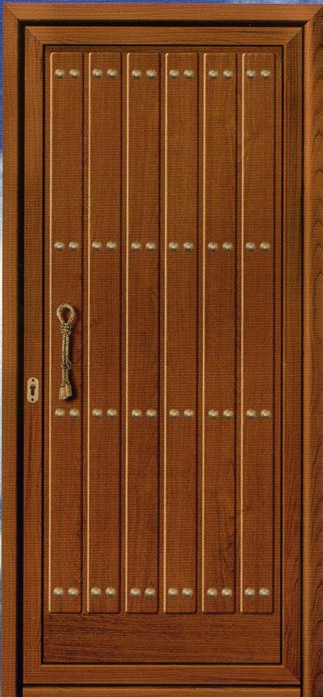 Puertas de aluminio y cerramientos catalogo puertas de aluminio - Puerta madera rustica ...