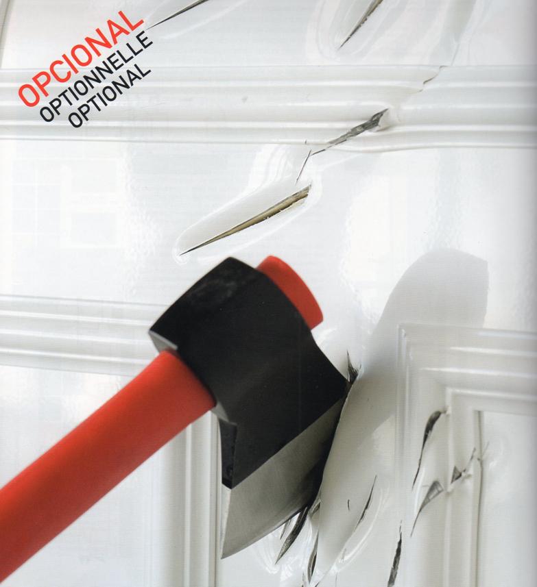 Puertas de aluminio y cerramientos catalogo puertas de for Puerta blindada casa