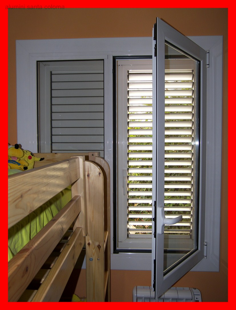 Ventanas aluminio en barcelona puertas correderas contraventanas a medida - Bentanas de aluminio ...